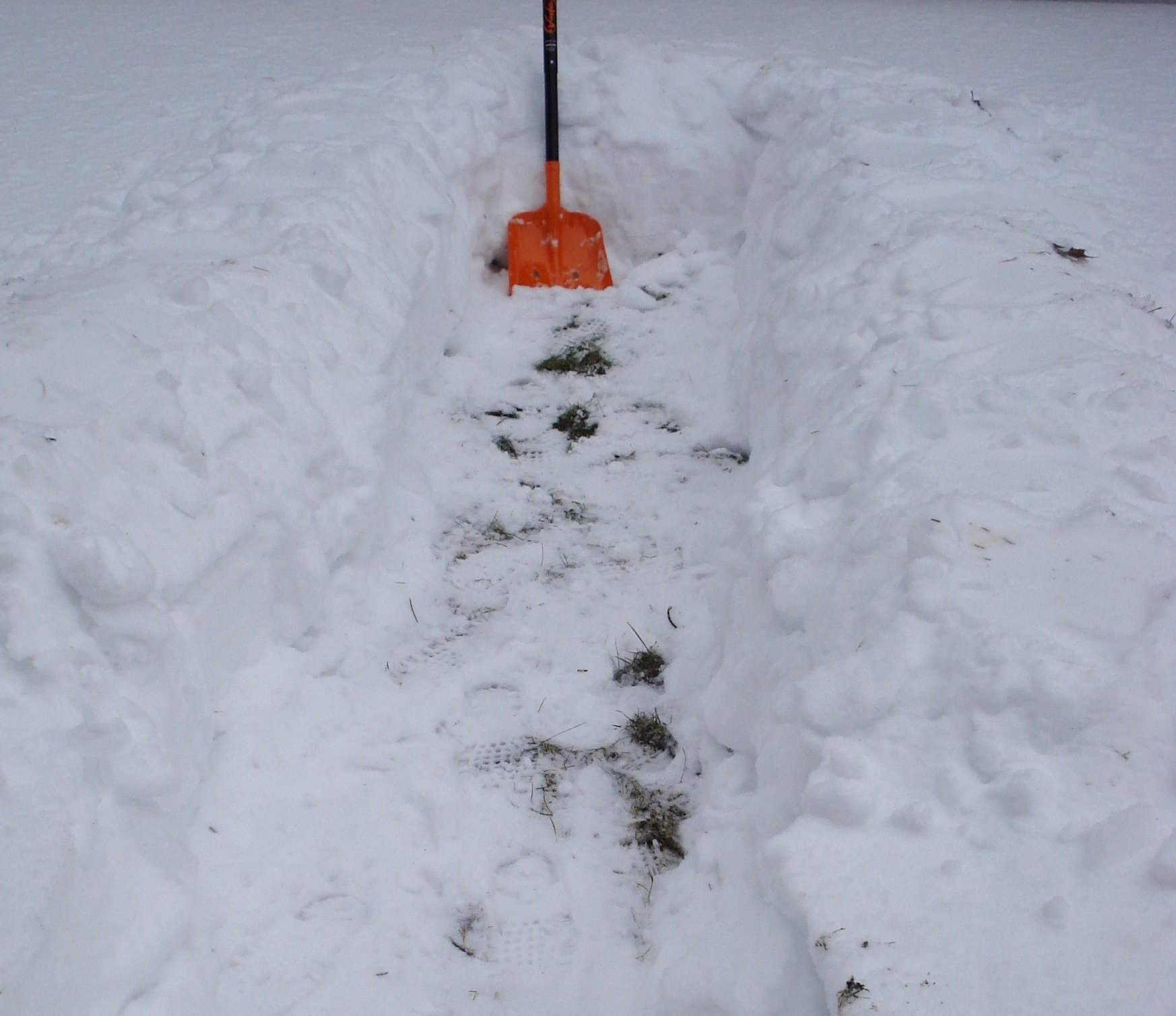 Survival Resources Gt Snow Trench Shelter