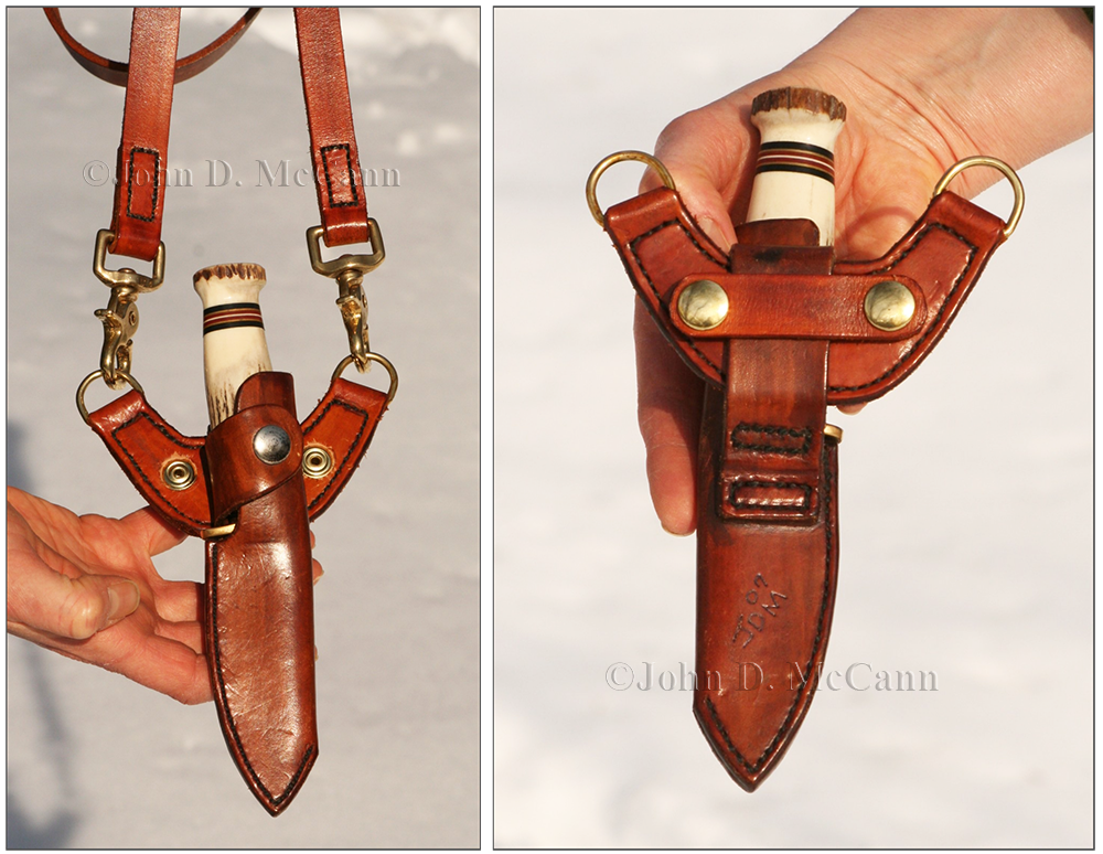 Survival Resources > Baldric Rig Adapter For Knife Sheaths