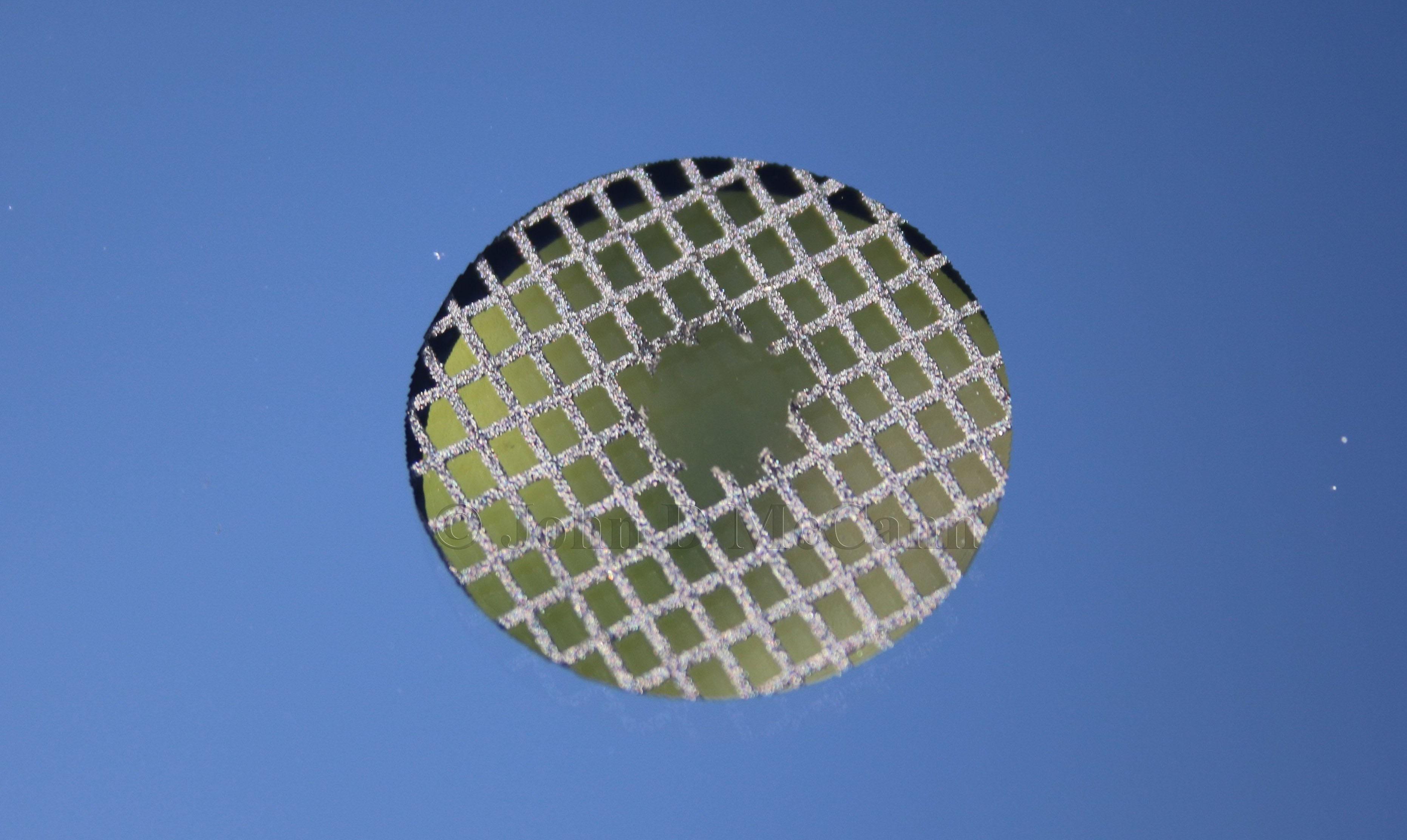 "Coghlan/'s Survival Signal Mirror 2/"" x 3/"" Sight-Grid Laminated Glass Camp Mirror"