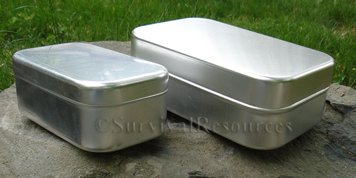 ... Small compared to the large. & Survival Resources u003e Containers u003e Mess Tin - Large
