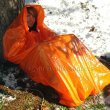 Orange Survival Bag