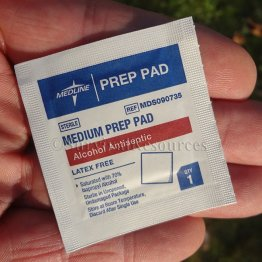 Alcohol Prep Pads - 20 Pack
