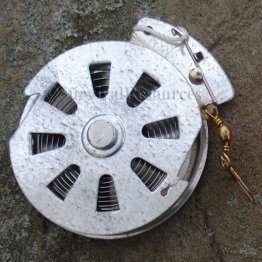 Automatic Fishing Reel - Galvanized