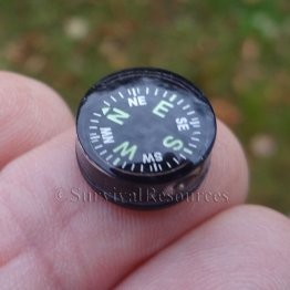 14mm Button Compass - Grade A