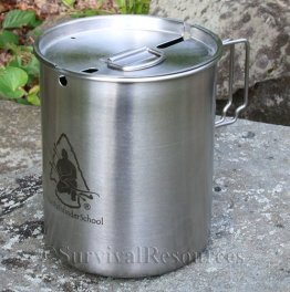 Stainless Pathfinder Cup & Lid Set