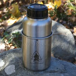 GEN-3 Pathfinder Stainless Steel 32 oz. Bottle & Nesting Cup Set