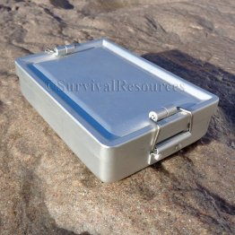 Locking-Lid Survival Tin