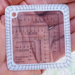 Pocket Sized UTM Corner Rulers