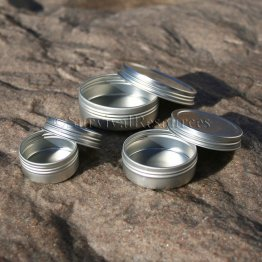Slim Line Screw-Top Tins