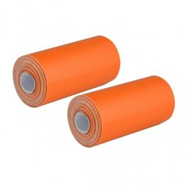 UST Mini Duct Tape Rolls - Orange - 2 Pack