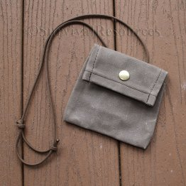 Front of EDC-Puck-Compass Pouch