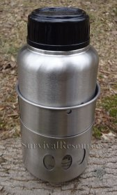 Pathfinder Bottle Stove