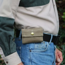 Forager's Belt Pouch - Waxed Canvas