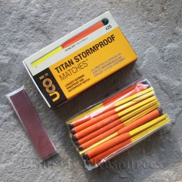 Titan Stormproof Matches - 25