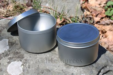 14 oz. - Large Screw Top Tin