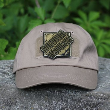 With OD Green Patch