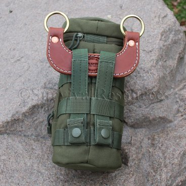 It can also be used to carry MOLLE pouches (pouch not included)