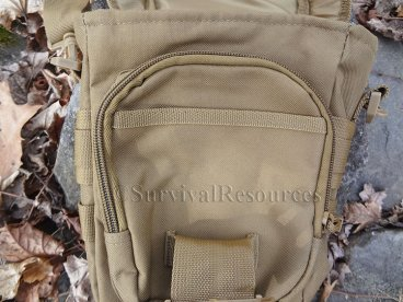 Front pouch.