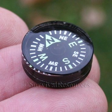 20mm Button Compass - Grade A