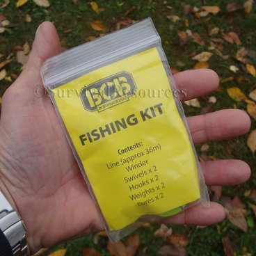 Survival resources food gathering emergency fishing kit for Emergency fishing kit