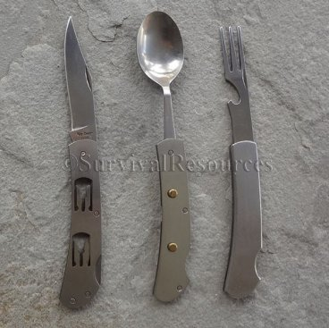 Utensils can be used individually.