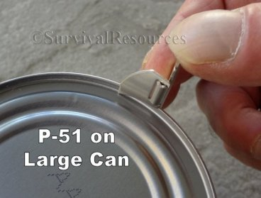 P-38 & P-51 Can Opener - 2 Pack