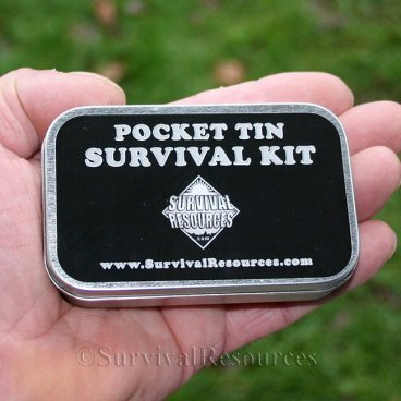 Pocket Tin Survival Kit