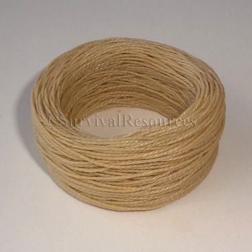 Speedy Stitcher Fine Waxed Thread - 30 Yard - Tan