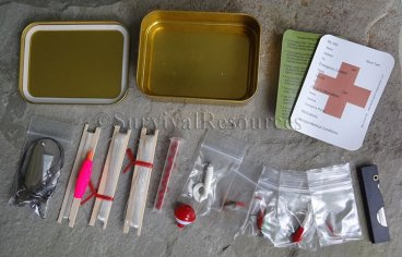 Standard Survival Fishing Kit