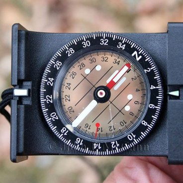 Suunto MB-6 NH Matchbox Style Mirror Compass