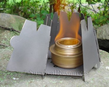 Used with a Vargo Hexagon stove.