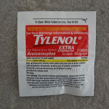 Tylenol Extra Strength - 4 Packets of 2 Caplets