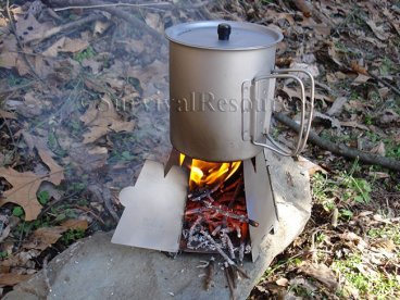 Vargo Hexagon Wood Stove