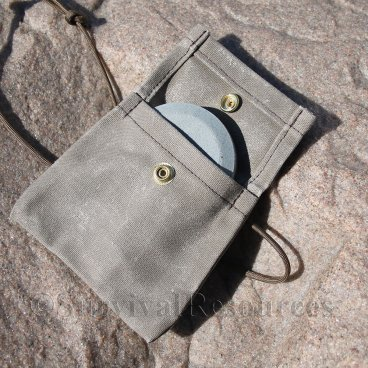 Pouch shown with a Lansky Puck - Not Included