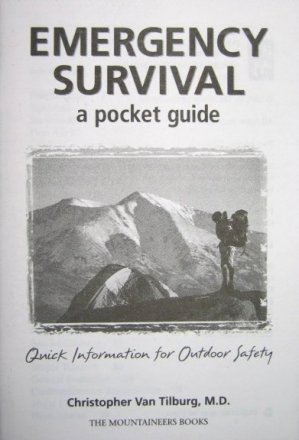 Book - Emergency Survival Pocket Guide