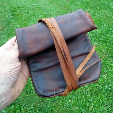 Leather Tinder Bag