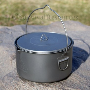 Toaks Titanium Bush Pot - 2 Quart