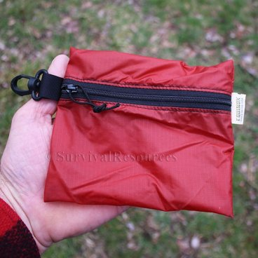 Red Medium Pouch